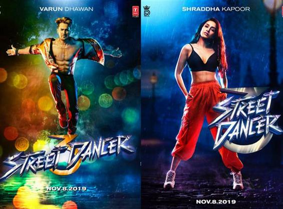 Street Dancer First Look feat. Varun Dhawan & Shraddha Kapoor