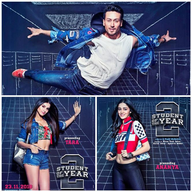 Student Of The Year 2: First look of Tiger Shroff, Tara and Ananya