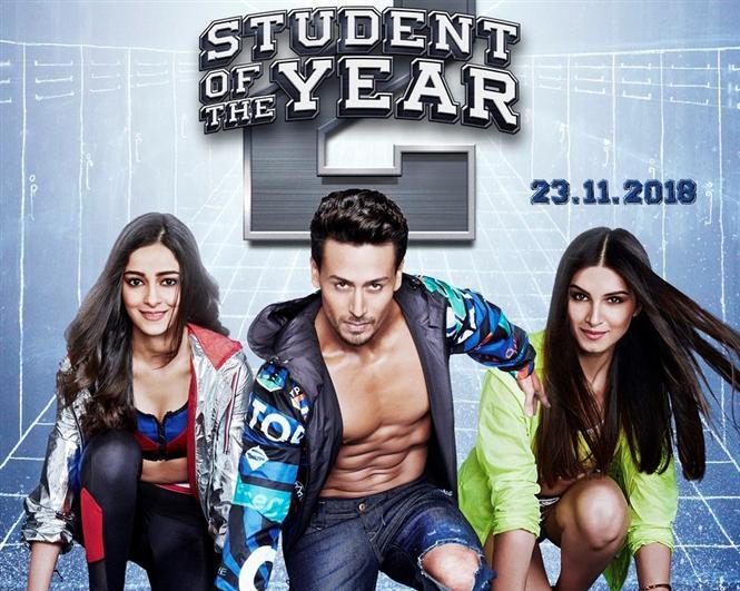 Student of the Year 2 Motion Posters feat. Tiger Shroff, Ananya Pandey, Tara Sutaria