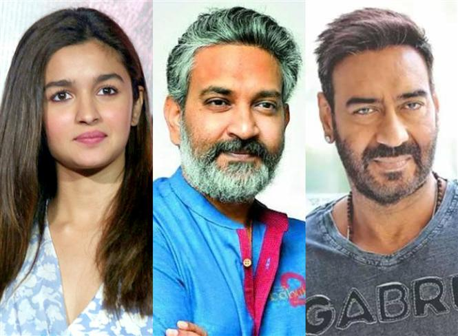 Stunning updates on S.S. Rajamouli's next: Alia Bhatt, Ajay Devgn on board for RRR Movie!