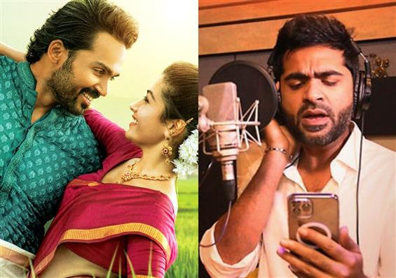 Sulthan second single crooned by Silambarasan TR o...