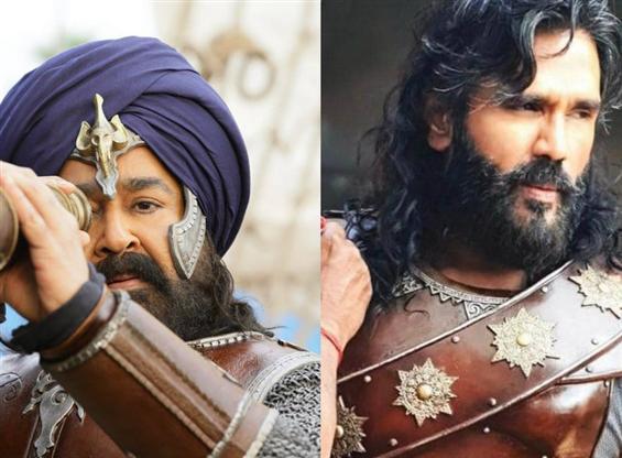 Sunil Shetty joins Mohanlal in Priyadarshan's Marakkar Arabikkadalinte Simham