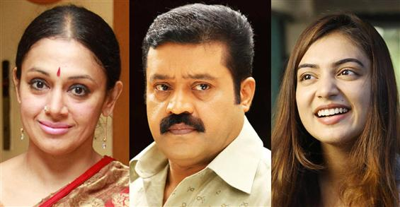 Suresh Gopi, Nazriya Nazim and Shobana come togeth...