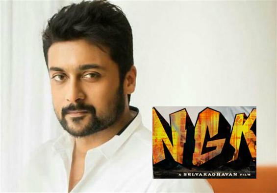 Suriya - Selvaraghavan's NGK resumes shooting!