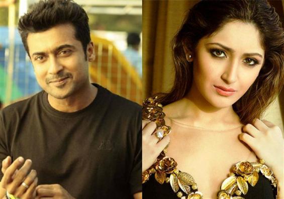 Suriya 37: Is Sayyeshaa the latest addition after ...