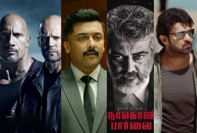 Suriya, Ajith, Prabhas, Dwayne Johnson: Starry Line-up for August 2019!