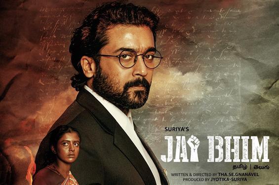 Suriya announces Jai Bhim release date on Amazon Prime Video!