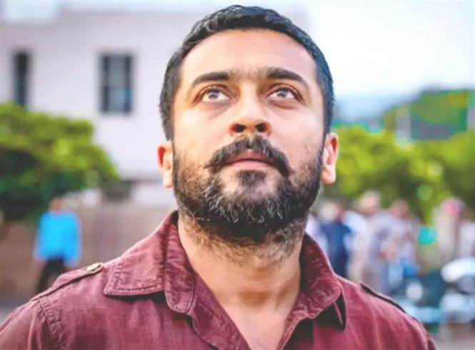 Suriya announces Rs. 2.5 Cr. for education of COVID-19 front-line workers' families!