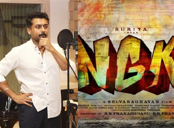 Suriya begins dubbing for NGK!