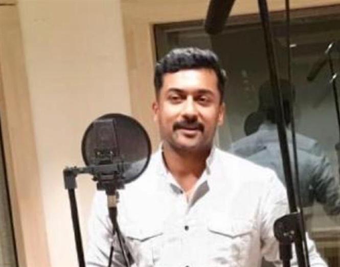 Suriya completes dubbing for NGK Teaser!