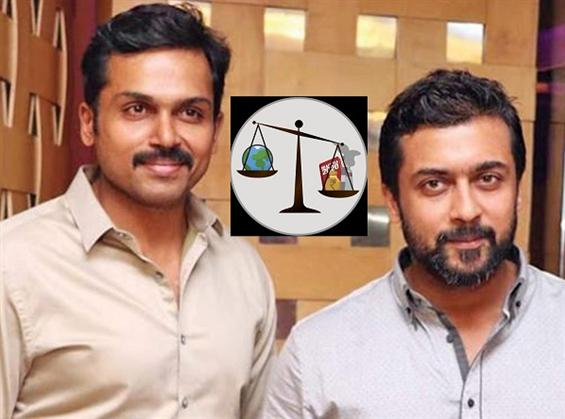 Suriya endorses Karthi's criticism of EIA Draft 20...