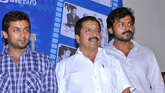 Suriya, Karthi & Sivakumar meet CM Stalin! Donate ...