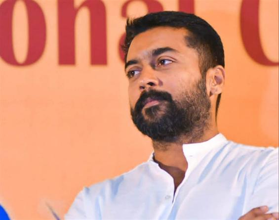 Suriya lashes out at the National Education Policy...