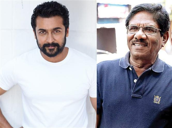 Suriya thanks Bharathiraja & sends a message for his fans!