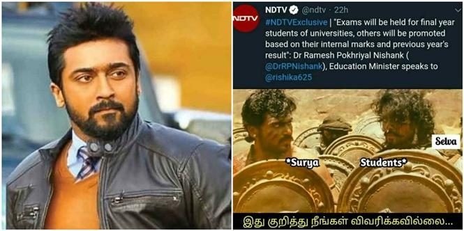Suriya the new Nostradamus - Netizens come up with hilarious MEMEs over movie predictions!