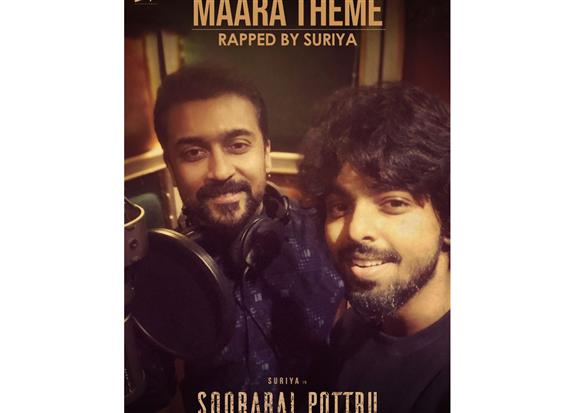 Suriya turns rapper for G.V. Prakash!