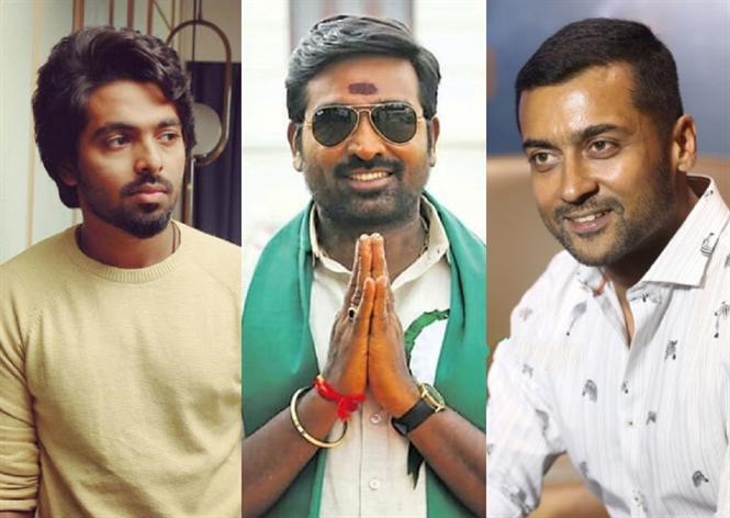 Suriya, Vijay Sethupathi, G.V. Prakash in a web-series!