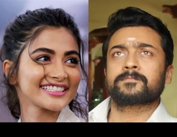 Suriya's Aruvaa gets Pooja Hegde?