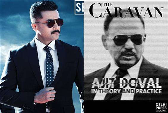 Suriya's Kaappaan & India's James Bond Ajith Doval - A Reel, Real Comparison!