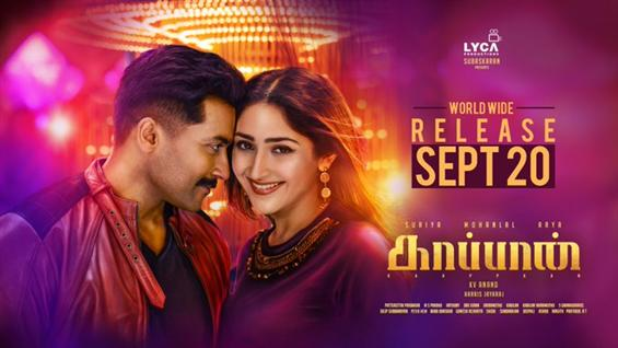 Suriya's Kaappaan gets censored!