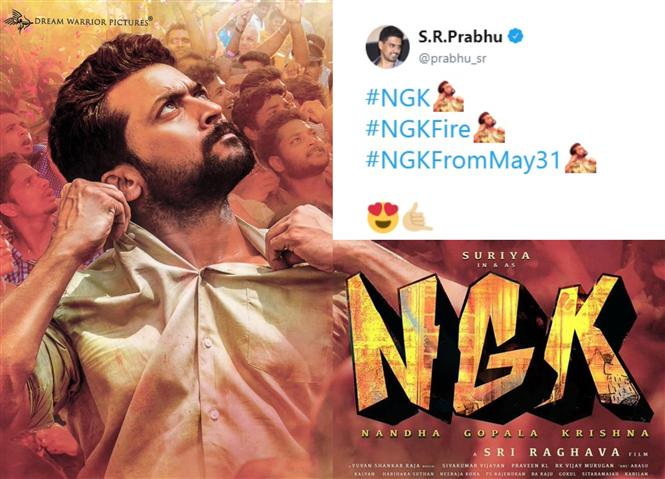 Suriya's NGK gets custom Twitter Emoji!