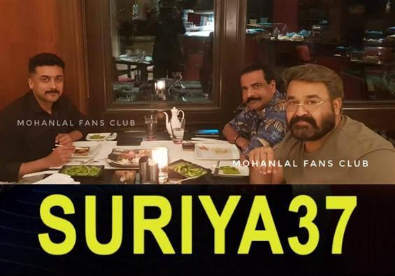 Suriya's smart & suave look for Suriya 37!