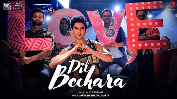 Susant Singh Rajput's Dil Bechara Title Track Vide...