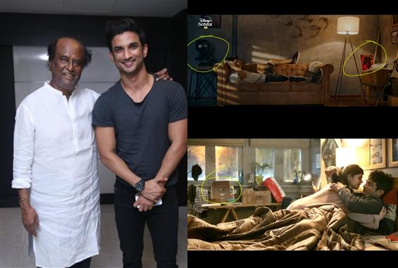 Sushant Singh Rajput plays a proper Rajini fan in ...
