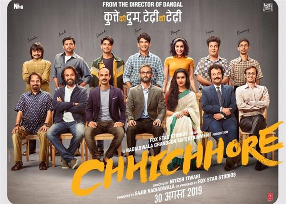News Image - Sushant Singh Rajput's Chhichhore First Look Poster image
