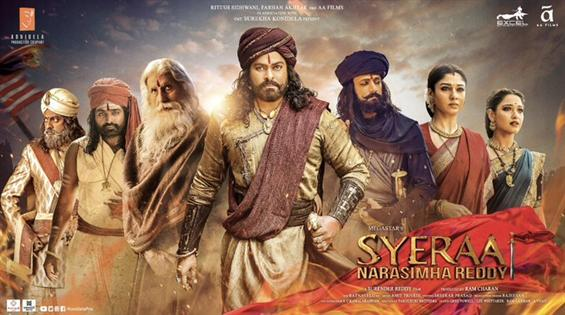 Sye Raa Narasimha Reddy Tamil Teaser