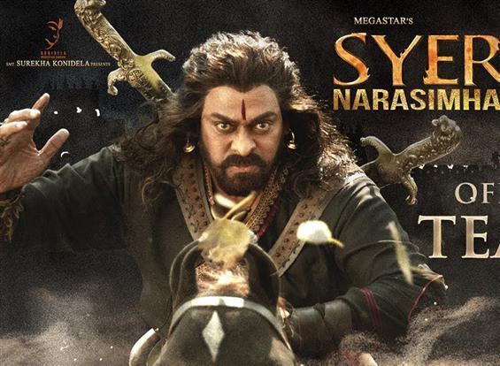 Sye Raa Narasimha Reddy Teaser unveiled on Chiranjeevi's birthday!