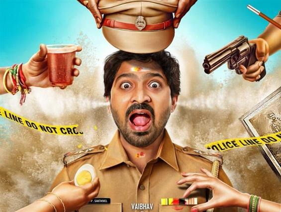 Taana First Look: Vaibhav as a cop in this supernatural comedy!