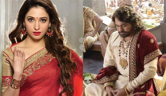 Tamanna bags a role in Chiranjeevi's Sye Raa Narasimha Reddy