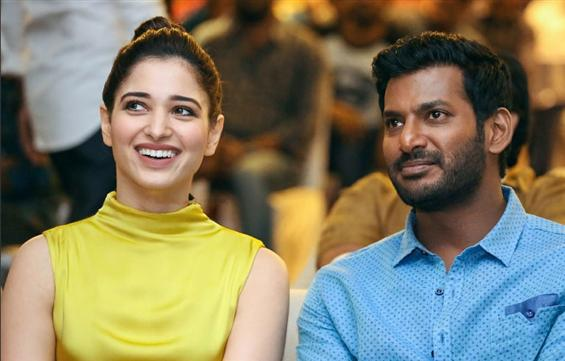 Tamannaah to play Villain for Vishal?