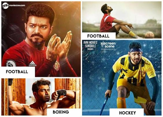 Tamil Cinema to witness more than 5 Sports Drama in 2019; A new trend ahead !?