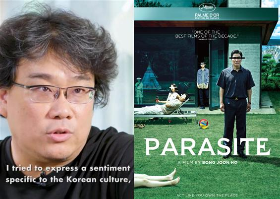 Tamil director says Parasite, Bong Joon-Ho's histo...