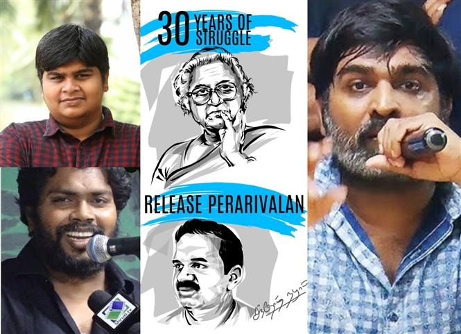 Tamil film celebs appeal for the release of Perarivalan!
