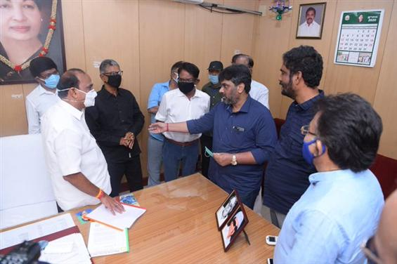Tamil Film Industry requests Govt to allow re-open...