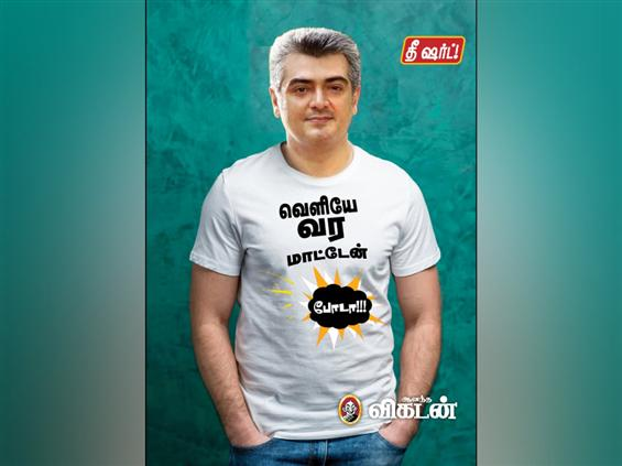 Tamil magazine faces Ajith fans' wrath after T-shi...