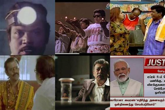 Tamil Meme Nation reacts to Modi's call for Lights...