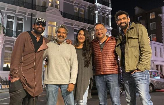 Team Baahubali reunites at Royal Albert Hall, Lond...