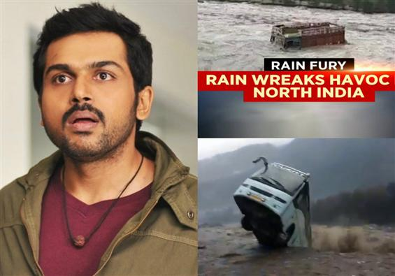 Team Dev safe in Manali: Actor Karthi updates abou...