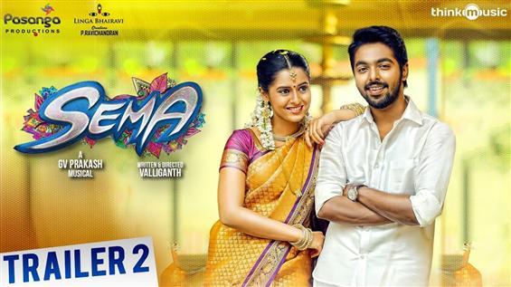 Team Sema releases New Trailer feat. G.V. Prakash