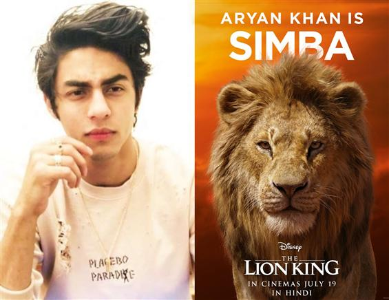 Teaser Of Aryan Khan As Simba From The Lion King H...