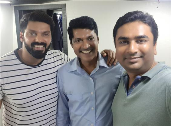 Thadam director makes his acting debut with Arya's Teddy