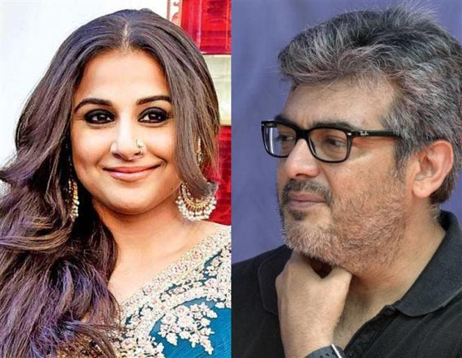 Thala 59: Vidya Balan confirms role in Ajith's film!