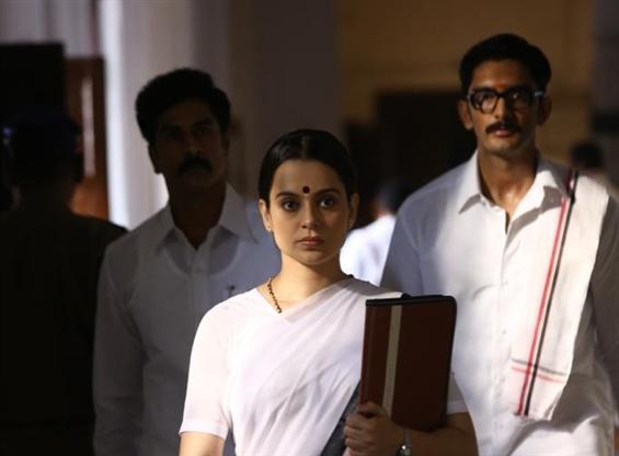 Thalaivi news stills unveiled for Jayalalithaa's death anniversary!