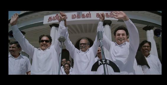 Thalaivi Trailer reveals Nasser as Karunanidhi!