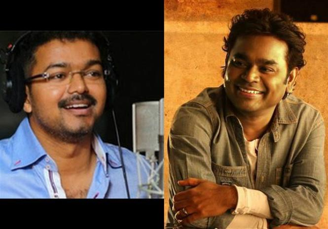 Thalapathy 62 movie update: Vijay to sing for AR Rahman?