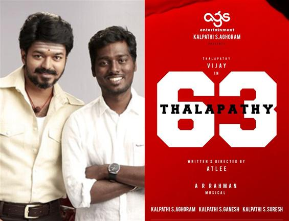 Thalapathy 63 director Atlee faces Plaigiarism All...